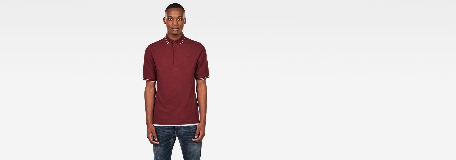 Correct Slim Polo | Port Red | G Star RAW®