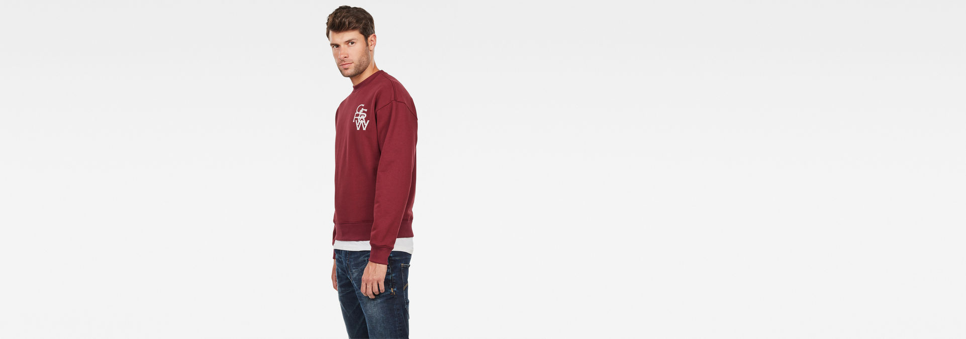 G-STAR RAW Mens Graphic 11 Stor Sweatshirt