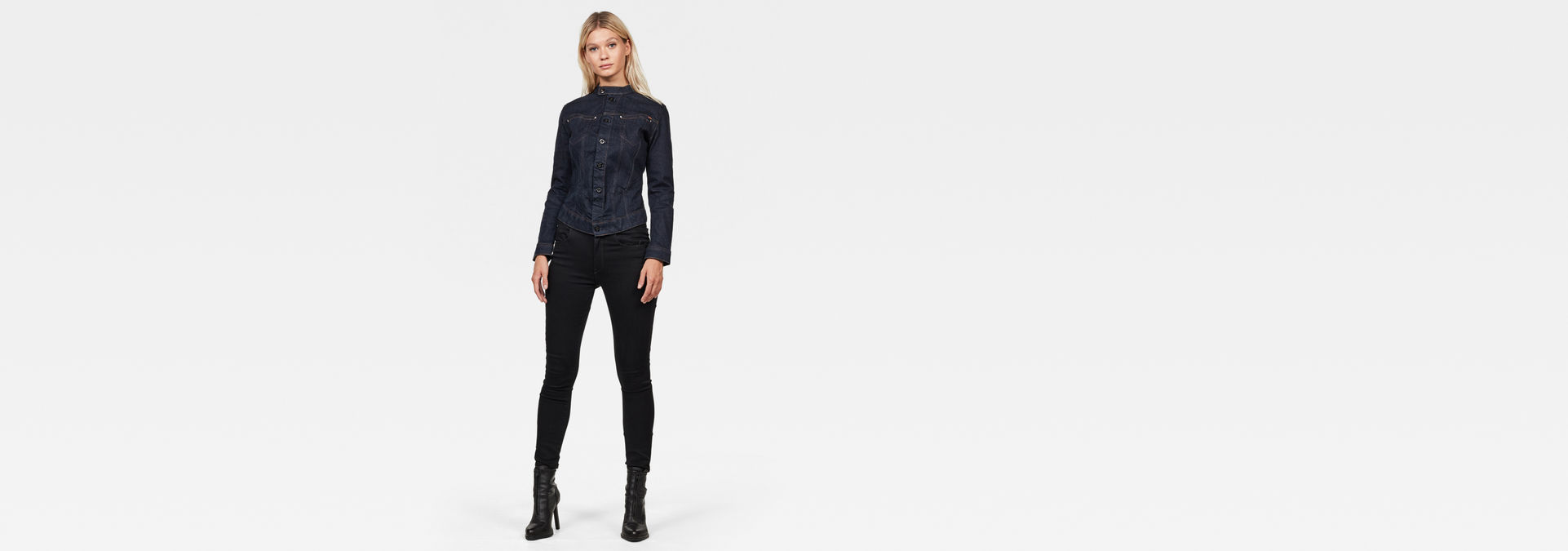 Veste Corbel Slim | Rinsed | Femmes | G Star RAW®