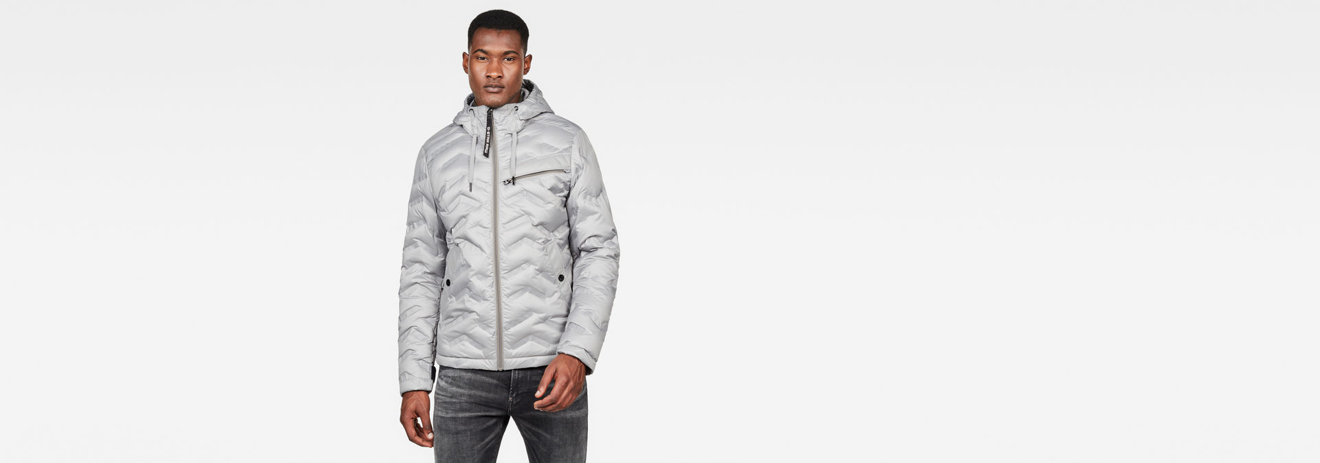 Veste Attacc Down | Charcoal | Hommes | G Star RAW®