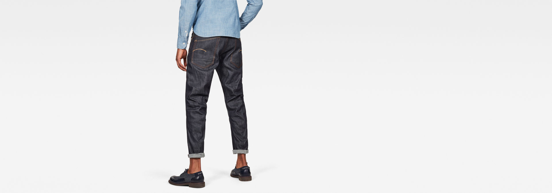 5650 3D Relaxed Tapered Jeans | Raw Denim | Heren | G Star RAW®
