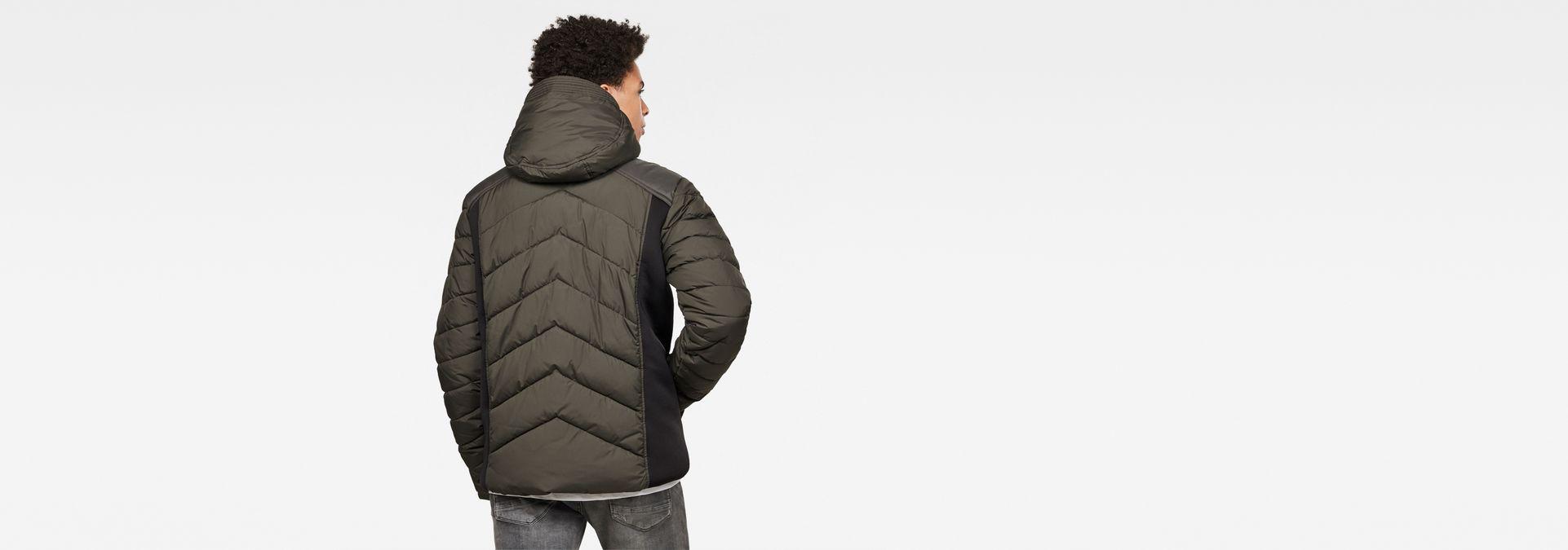 Motac Zip puffer Jacket | Asfalt | Men | G Star RAW®