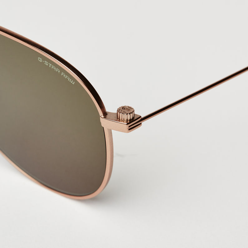 Metal Sniper Sunglasses Copper Satin G Star Raw
