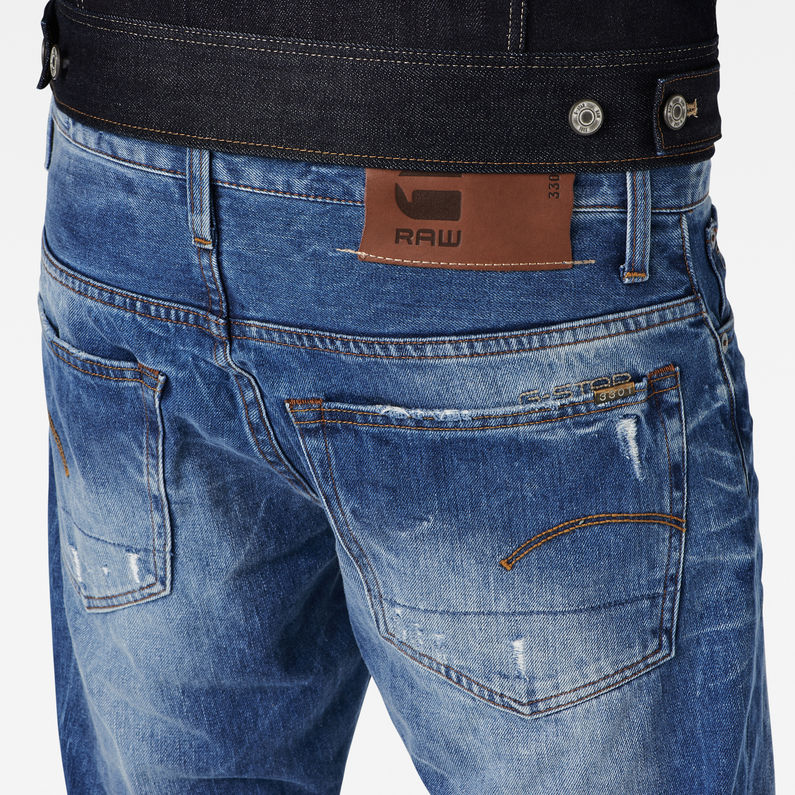 3301 Straight Jeans | Light Aged | Hommes | G Star RAW®