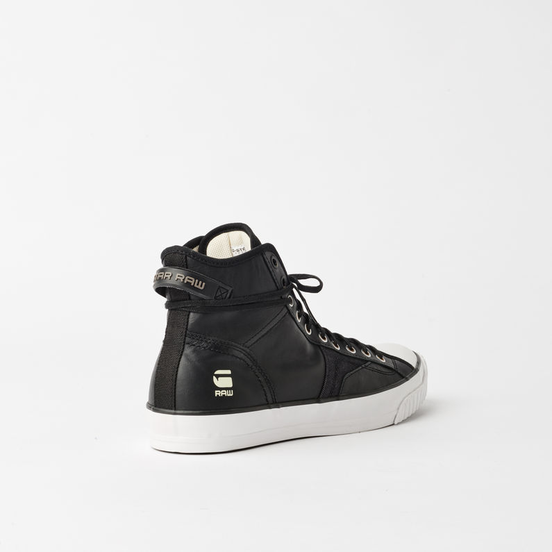 Campus Raw Scott III Hi Leather Sneaker