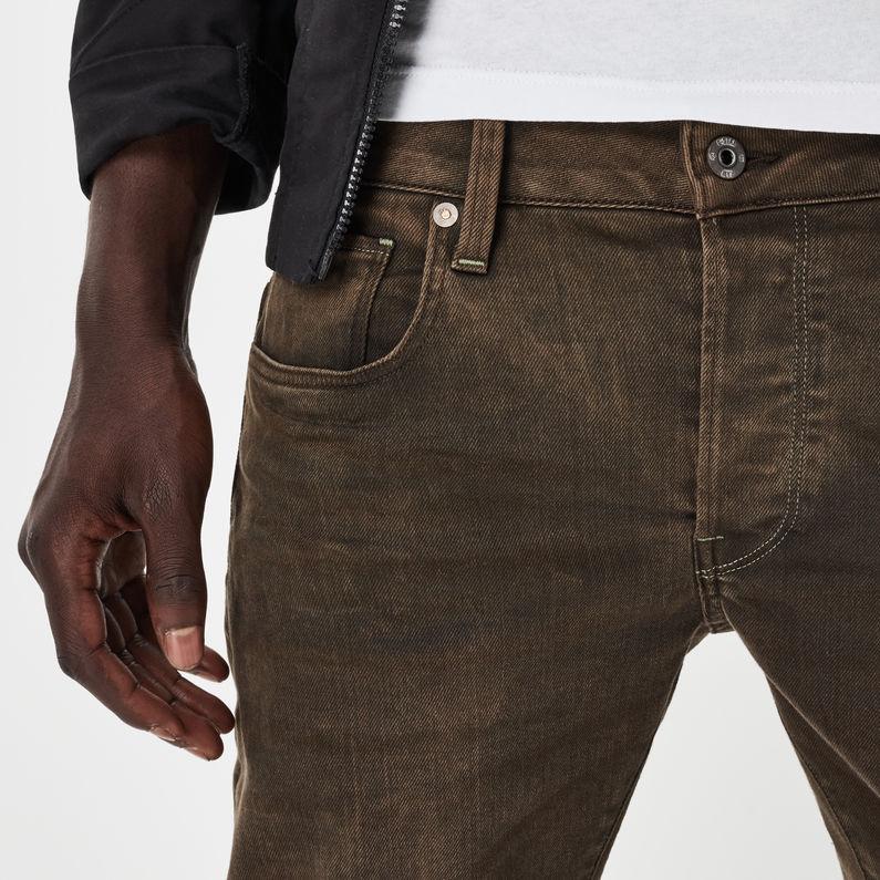 3301 Slim Color Jeans | Dark Hide Brown | Heren | G Star RAW®