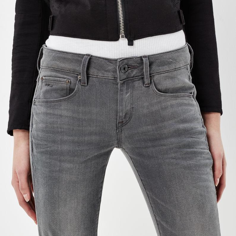 Attacc Mid Waist Straight Jeans | Medium Aged | G Star RAW®