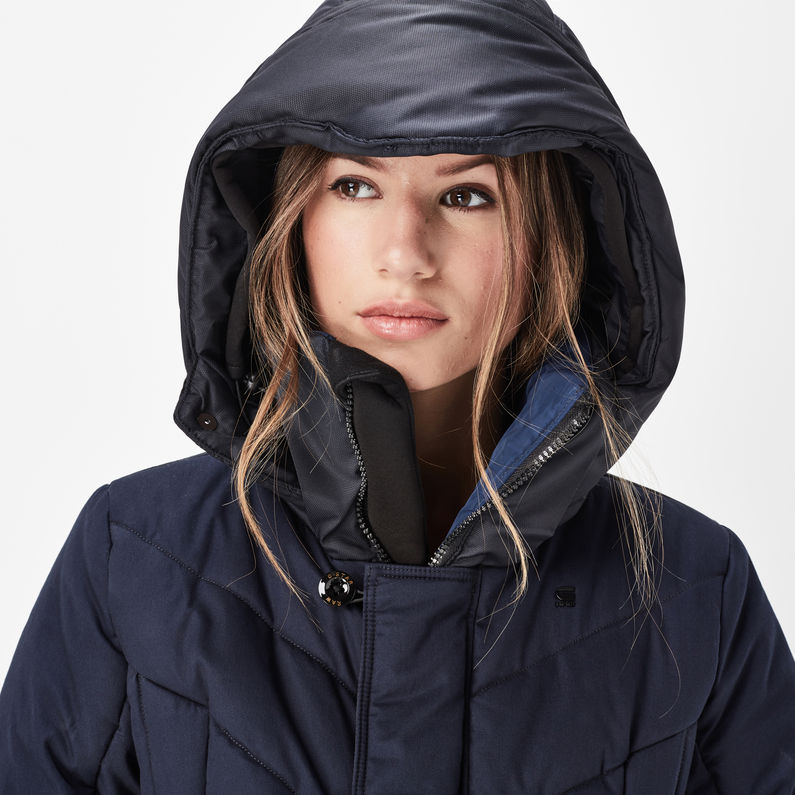 Wonderlijk Alaska Coat | Dark Saru Blue | Dames | G-Star RAW® PI-31
