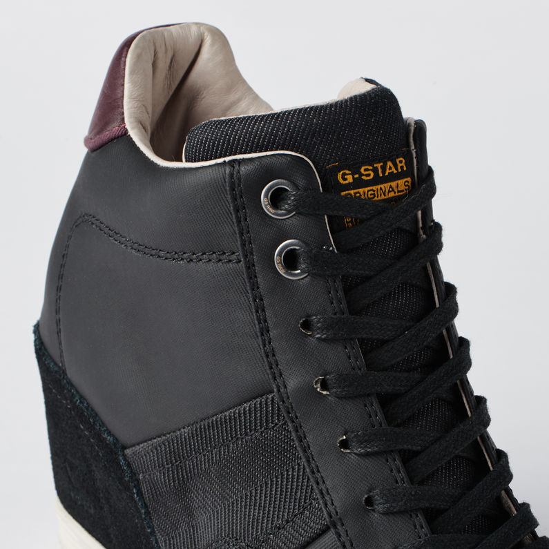 c5fe3e44e21d Features. The ultimate wardrobe essential. High-top sneakers with a  concealed wedge ...