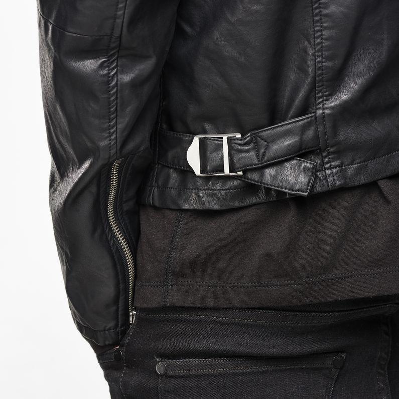 Edla Faux Leather Jacket | Black | Hommes | G Star RAW®