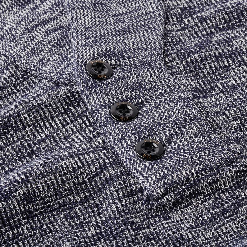 G Star RAW Contrast Shawl Collar Knit Men Knitwear
