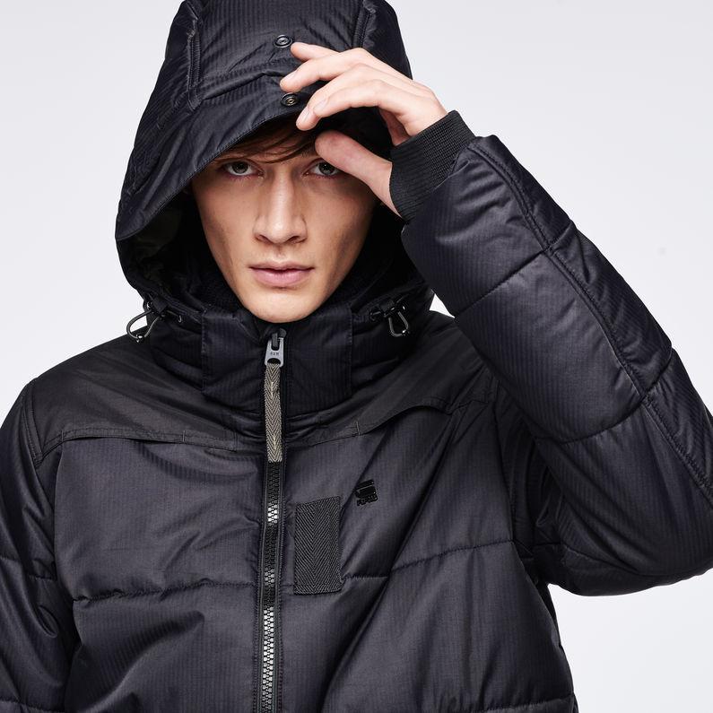 e21de6496d6cb Whistler Hooded Jacket | Black | Men | G-Star RAW®