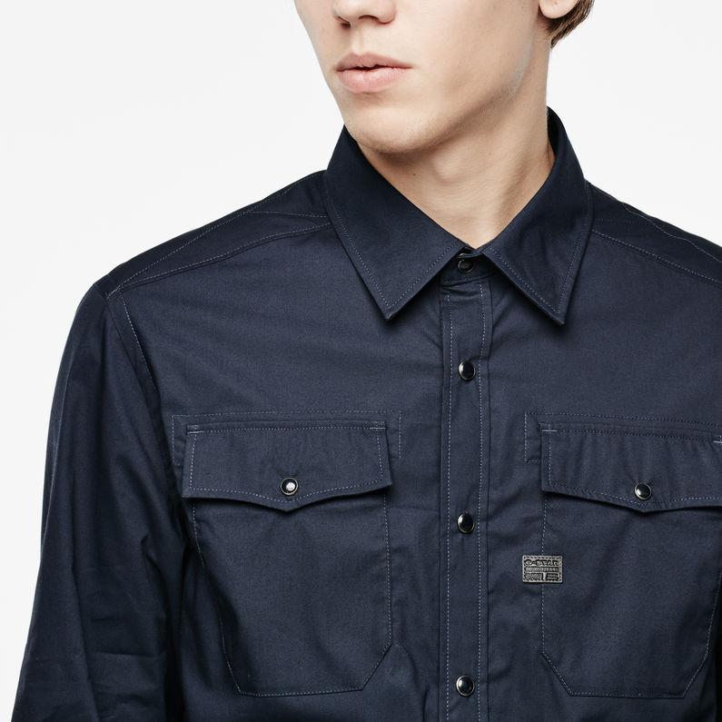 Correct Landoh Shirt | Saru Blue | Hommes | G Star RAW®