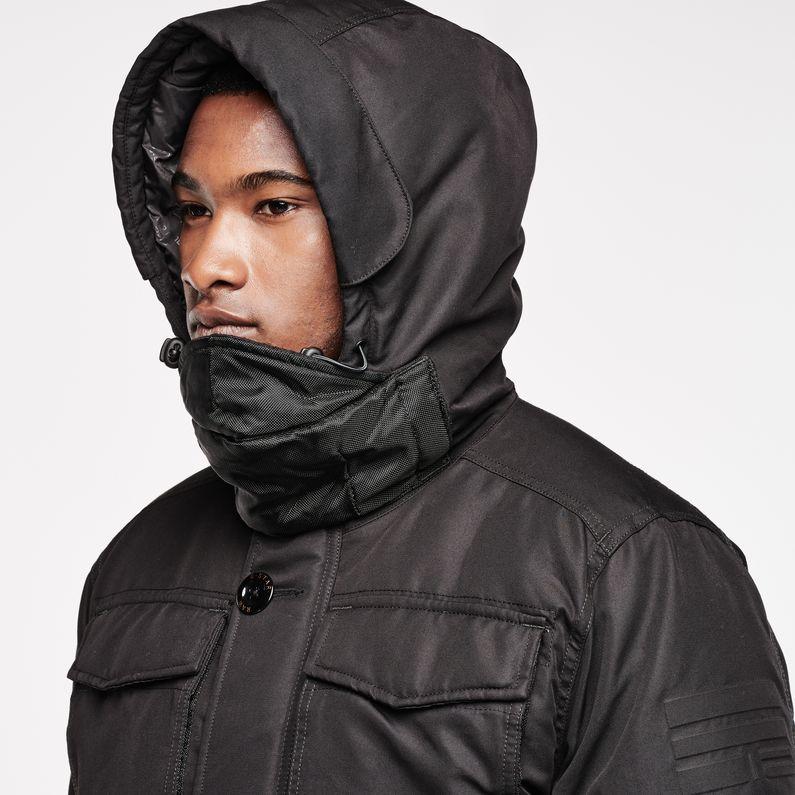 MFD Hooded Parka   Black   Hommes   G Star RAW®