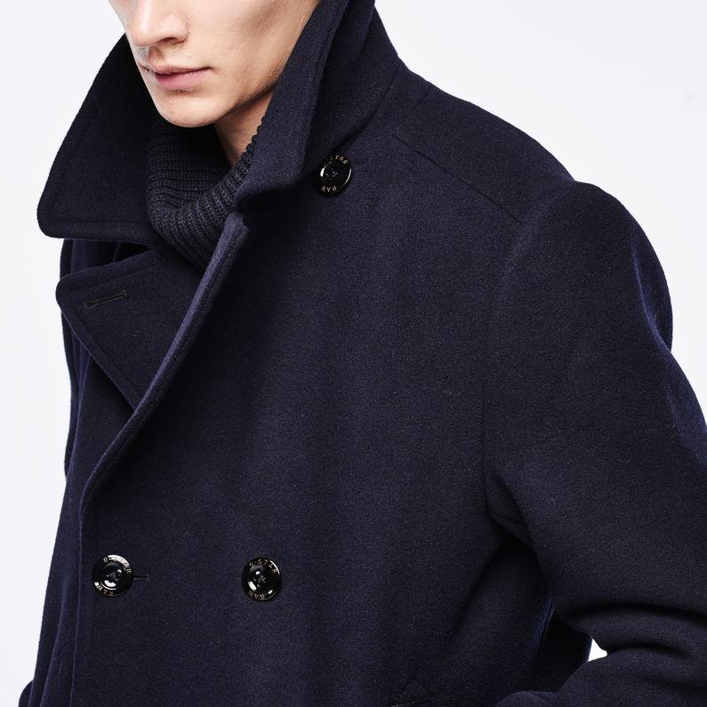 G-STAR RAW Traction Wool Peacoat Abrigo para Hombre
