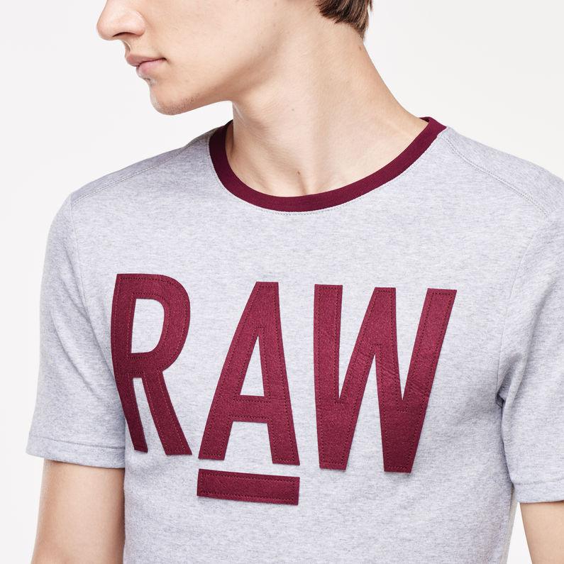 Kritnu Round Neck T Shirt | Grey Heather | Men | G Star RAW®