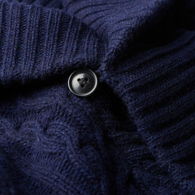 7f028a570a5 Higging Cardigan Knit | Mazarine Blue Heather | Men | G-Star RAW®