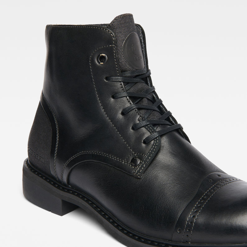 G Star outlet uk, G Star WARTH BOOT Bottines à lacets