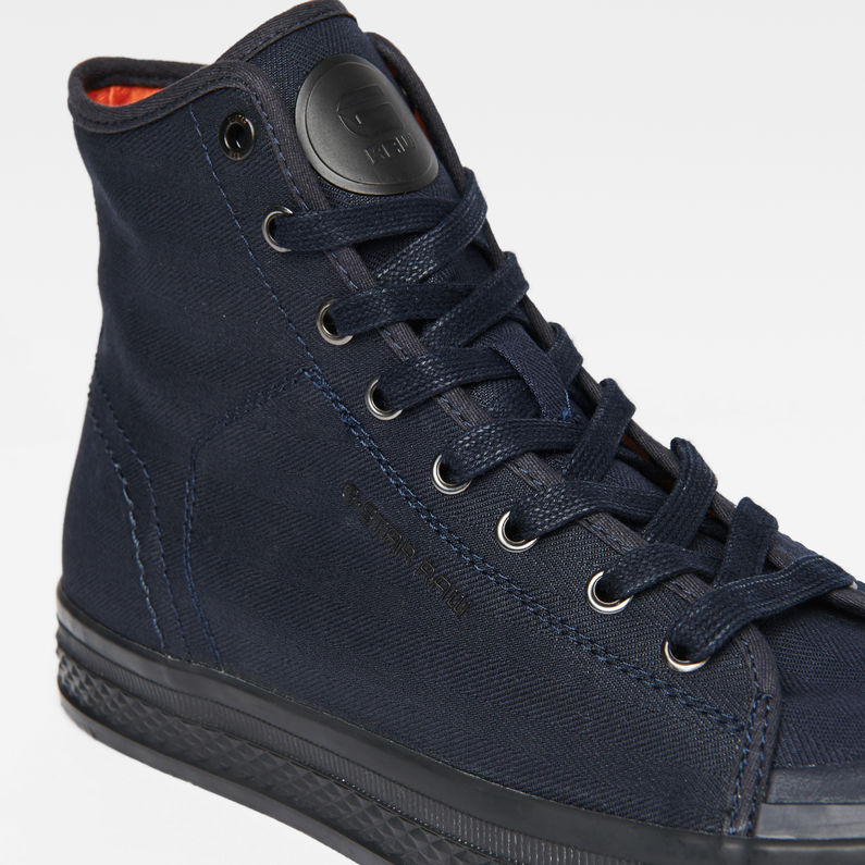 Bayton High-Top Denim Sneakers  86cf2b509e1