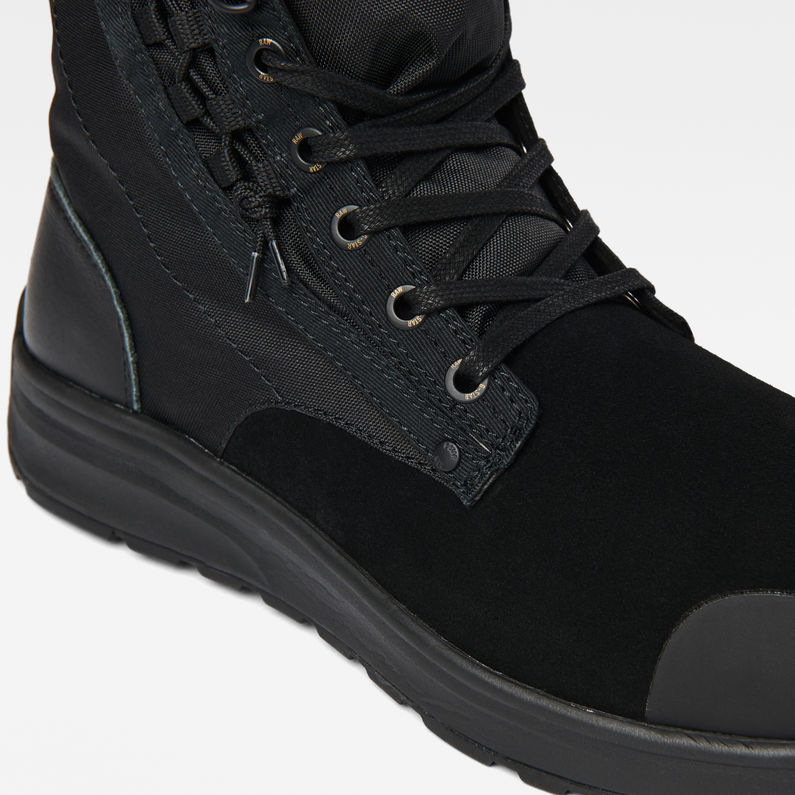Cargo High Sneakers | Black | Hommes | G Star RAW®