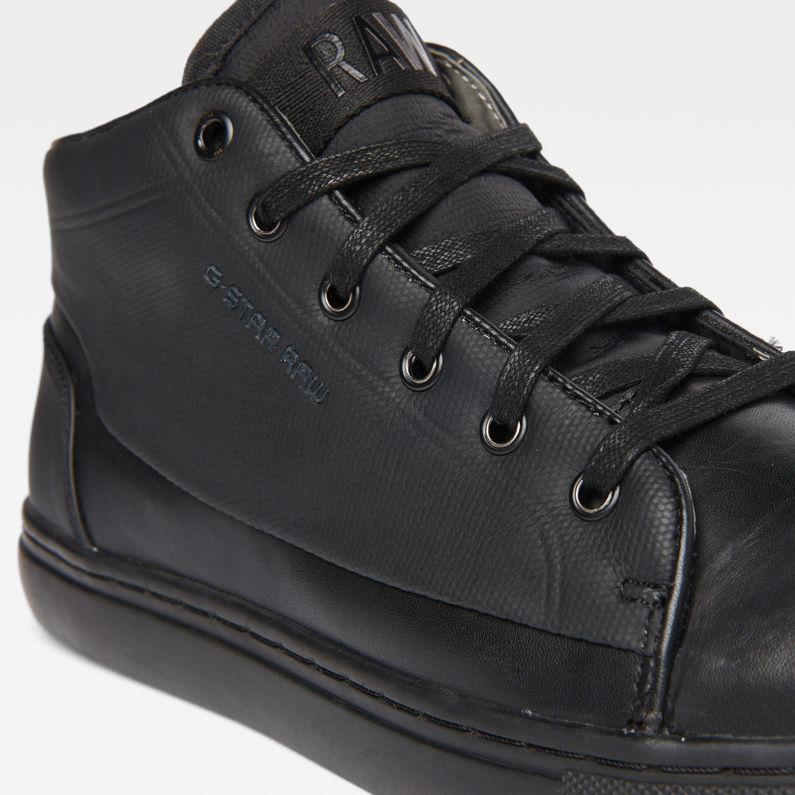recogido nuevo baratas moda más deseable Thec Mid-Top Mono Sneakers | Black | Men | G-Star RAW®