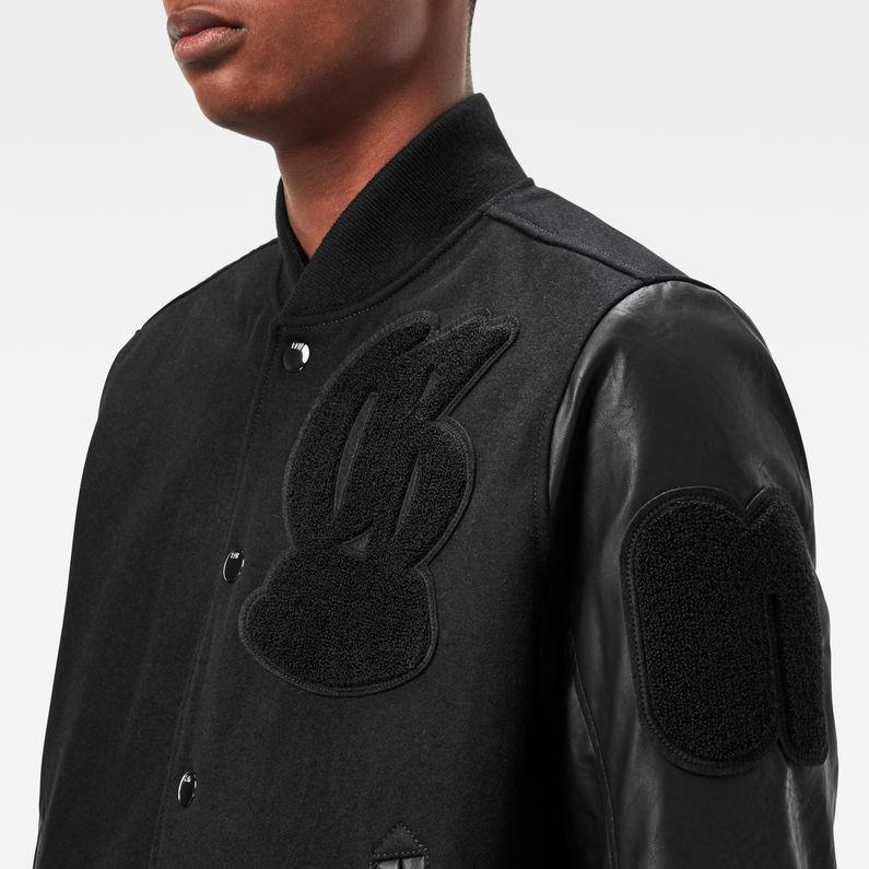AB Sports Bomber Jacket   Black   Hommes   G Star RAW®