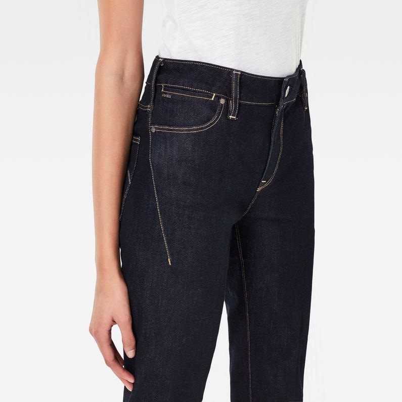 Lanc 3D High Waist Straight Jeans | Raw Denim | G Star RAW®