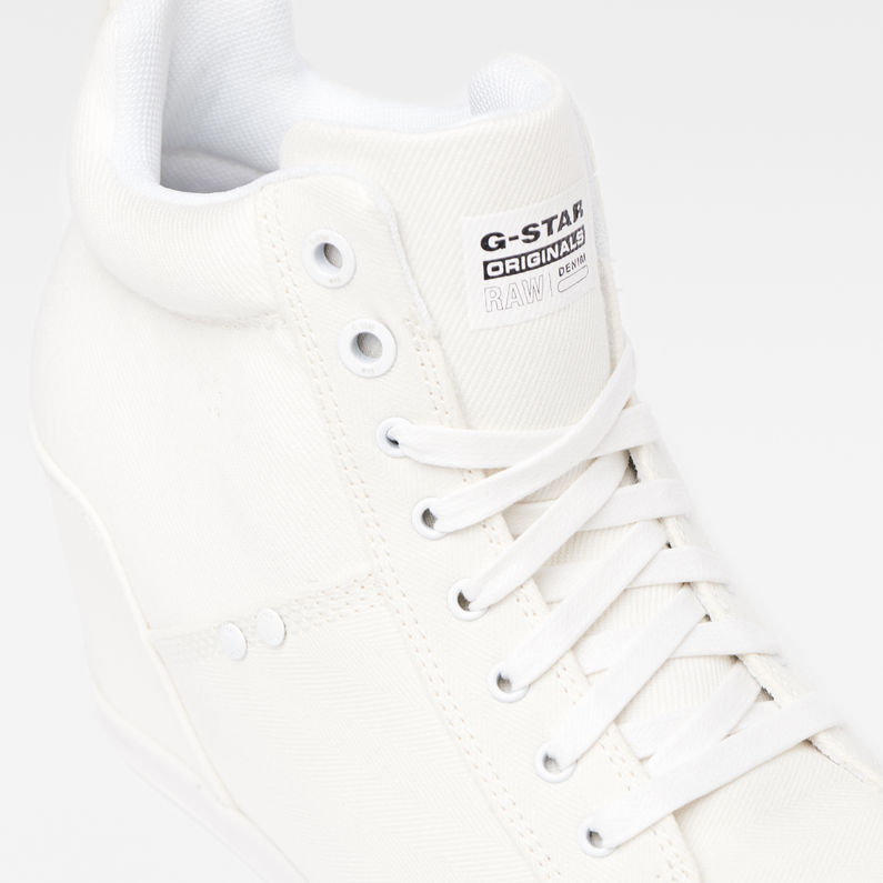 Labor Wedge Sneakers | White | G-Star RAW®