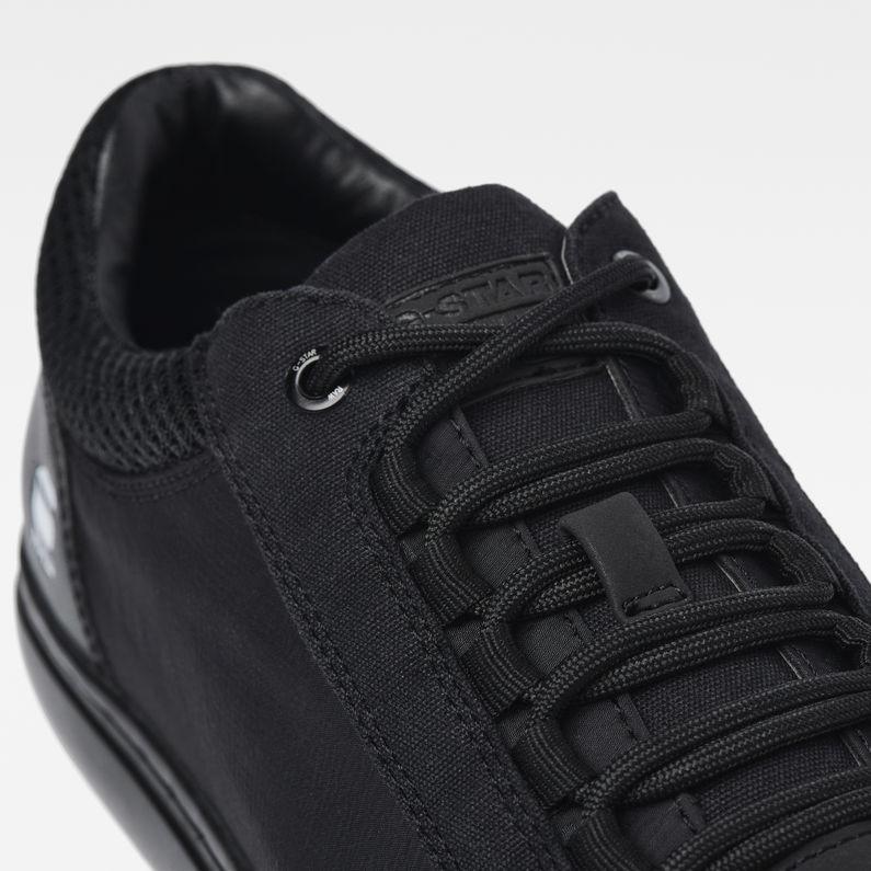 Zlov Cargo Mid Sneakers   Black   G Star RAW®