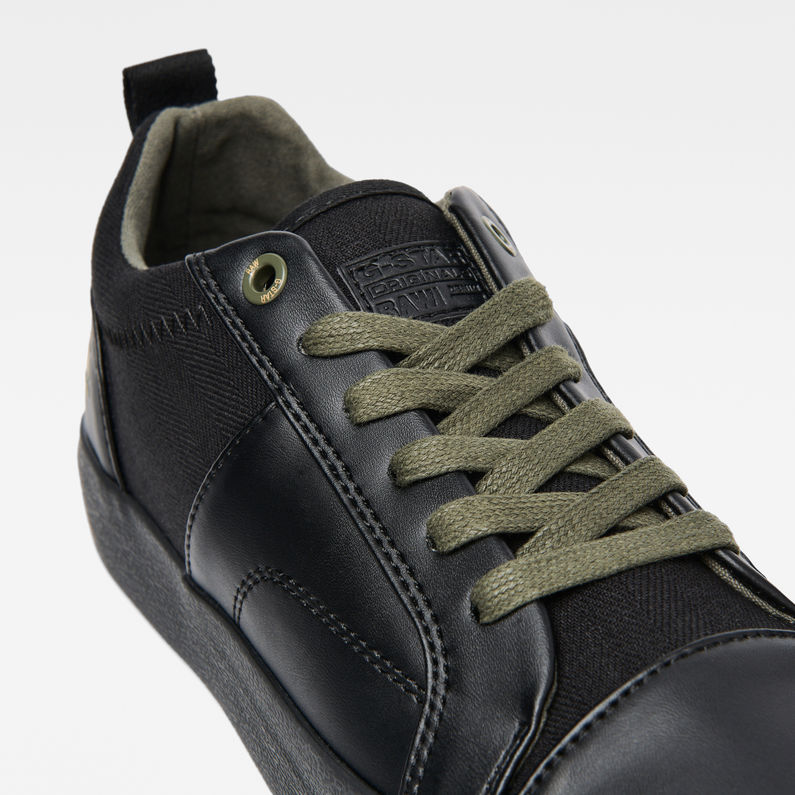 Scuba Plateau Sneakers   Black   G-Star