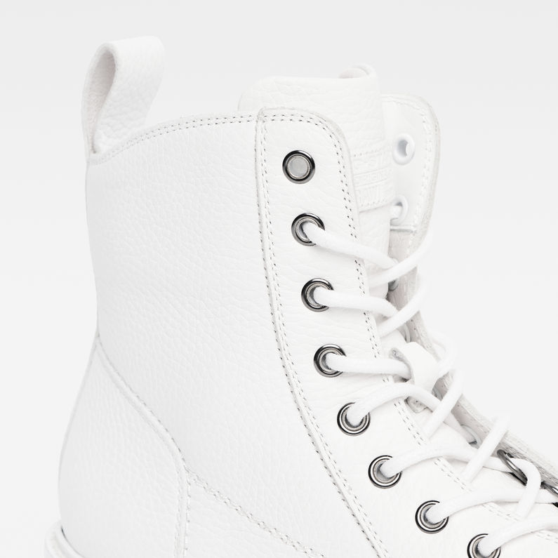 Roofer Boots   White   G-Star RAW®