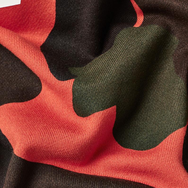 Olok Cropped Sweater | Tador OrangeArsenic | Dames | G Star