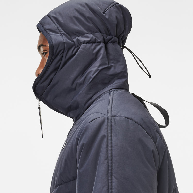 Strett Short Chevron Hooded Jacket   G Star RAW®
