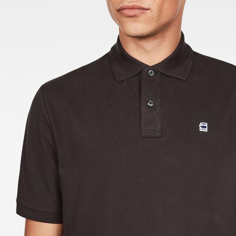 Dunda Polo Slim T-Shirt | Black | G-Star