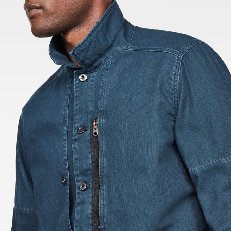 official supplier unbeatable price official store Rackam Zip Jacket | Legion Blue | Men | G-Star RAW®
