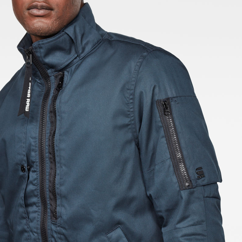 new high quality outlet boutique variety design Rackam Utility Padded Overshirt | Legion Blue | Men | G-Star ...