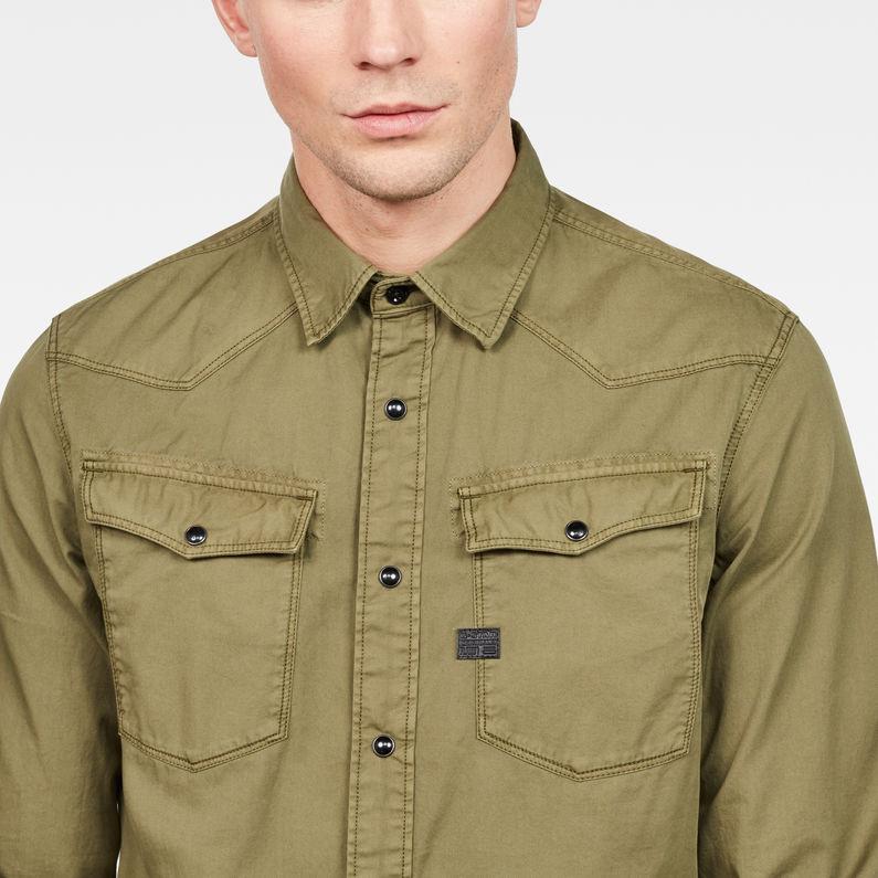 3301 Shirt Sage G Star Raw