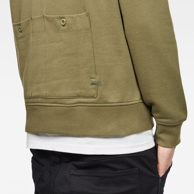 Core Hybrid Archive Sweater | Sage | Men | G-Star RAW®