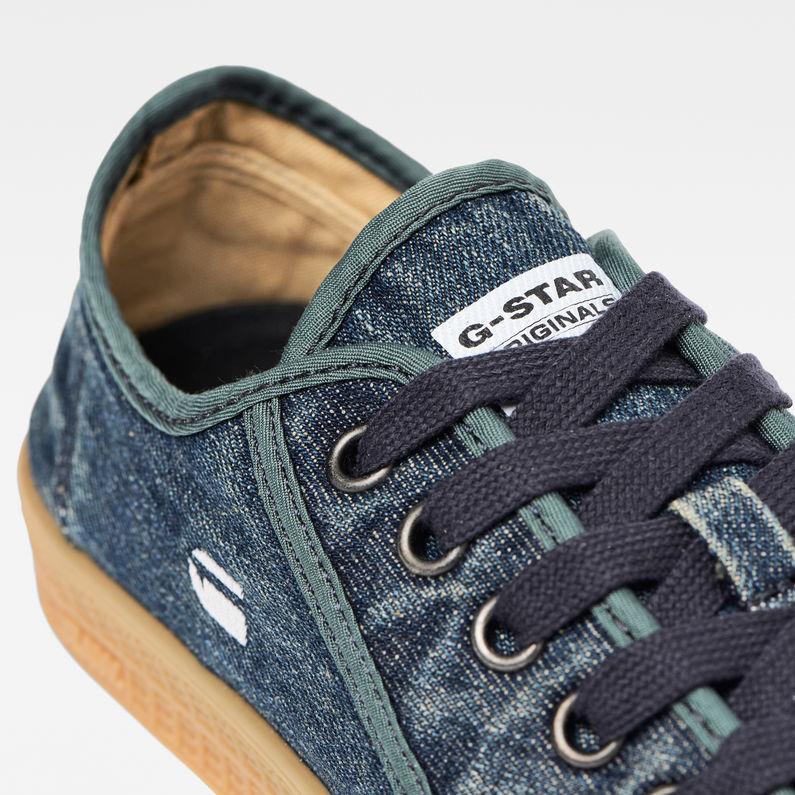 Rovulc Roel Wash Low Sneaker   Dark