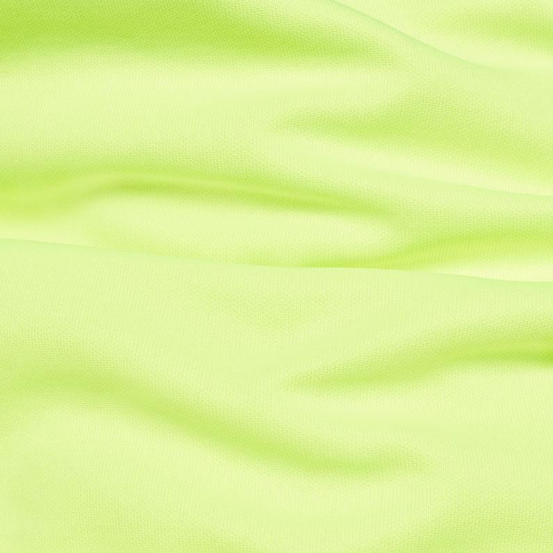 d41606cbb5b G-Star RAW® Vilsi Stalt Deconstructed Slim Sweater Yellow fabric shot