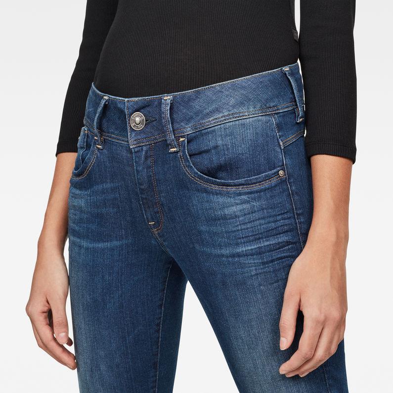 Lynn Mid Skinny Ripped Ankle Jeans | Medium Aged | G Star RAW®