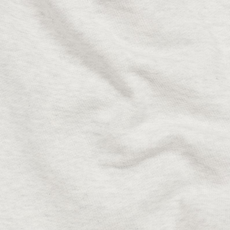 Core Stripe Loose Sweatshorts | White Heather | G Star RAW®