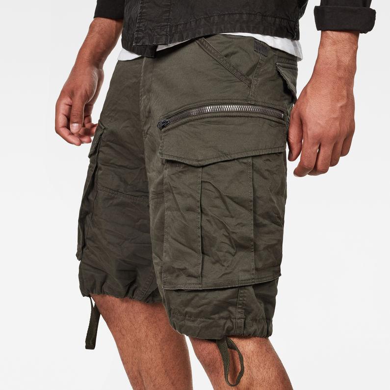 Rovic Zip Relaxed 12 Length Shorts | Asfalt | G Star RAW®
