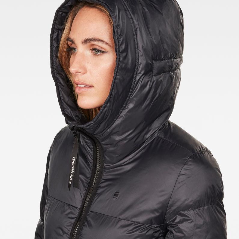 Whistler A Line Jacket | Dark Black | Damen | G Star RAW®