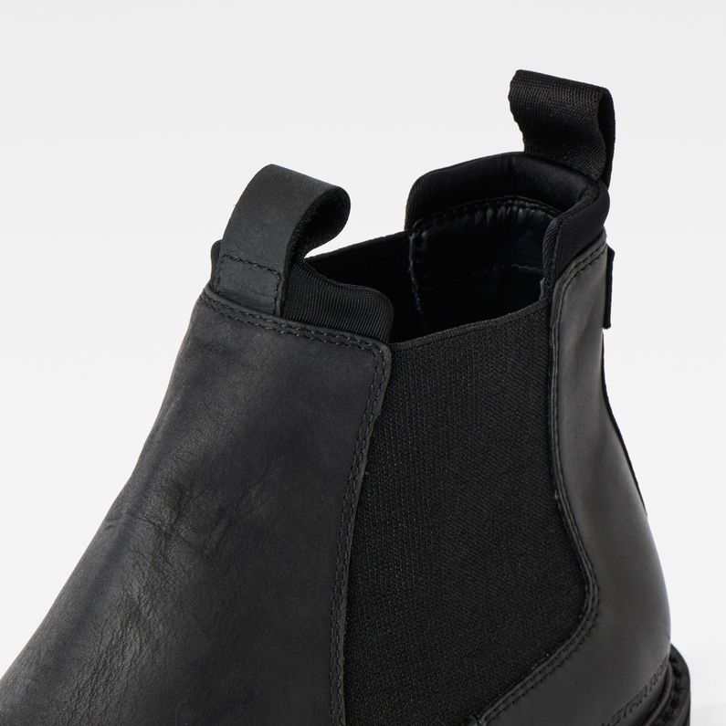 Core Chelsea Boots | Black | Hommes | G Star RAW®