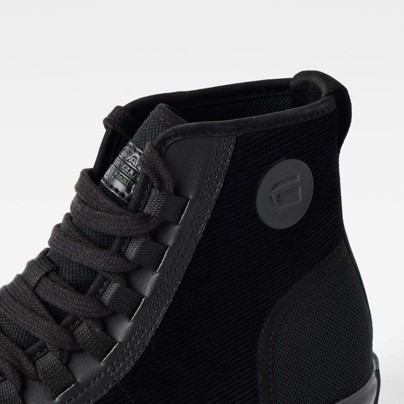 G-Star Raw Mens Scuba MID Denim Sneaker