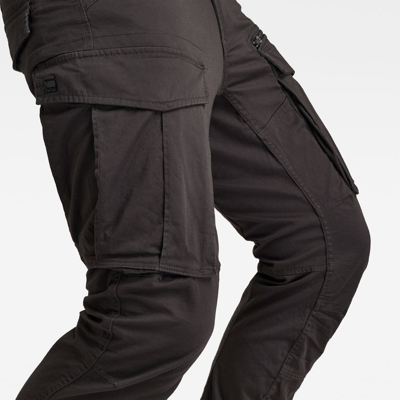 fine craftsmanship customers first rock-bottom price Rovic Zip 3D Straight Tapered Pants | Raven | G-Star RAW®