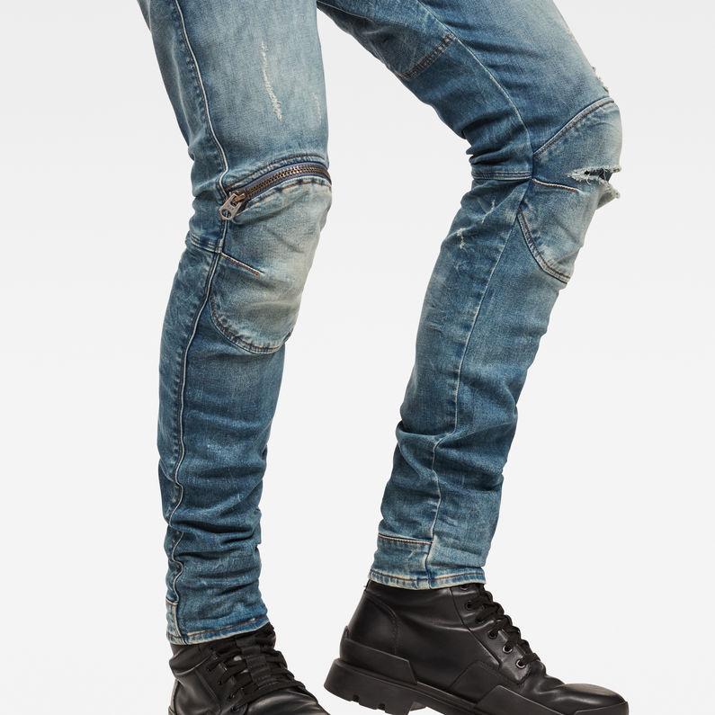 5620 3D Zip Knee Ripped Super Slim | G Star RAW®