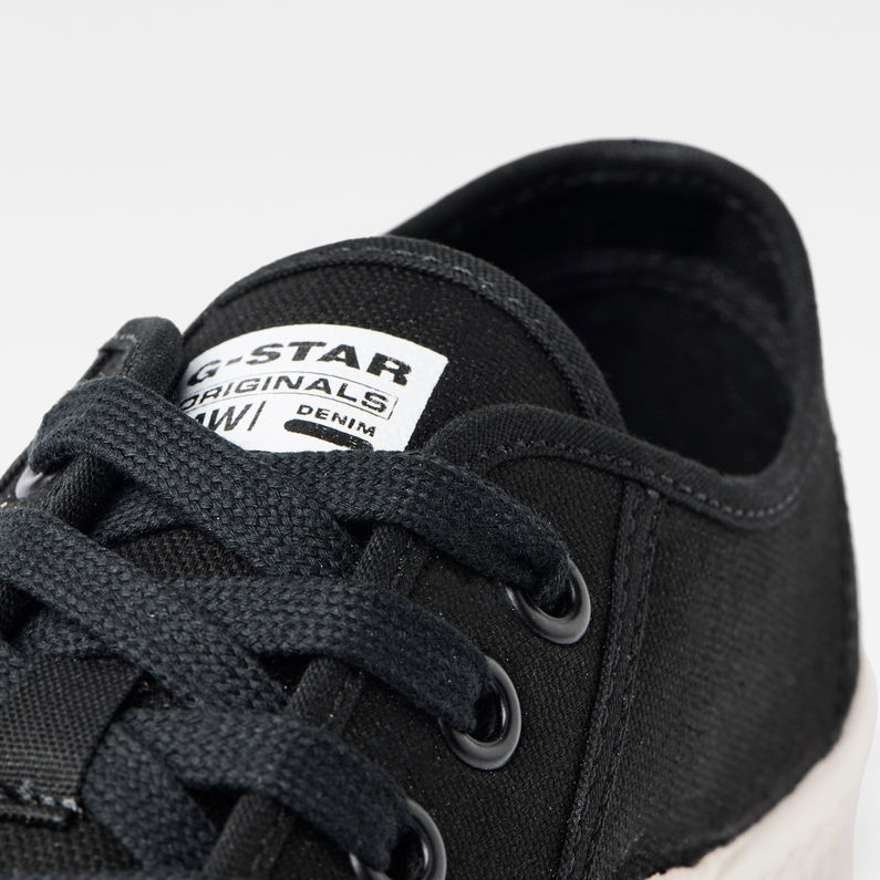 Rovulc Canvas Low Sneakers | Black | G