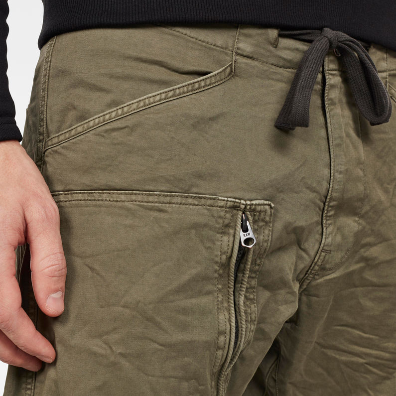 Powel Qane 3D Straight Tapered Cuffed | Asfalt | G Star RAW®
